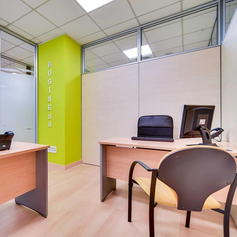 Despachos disponibles para alquilar por horas