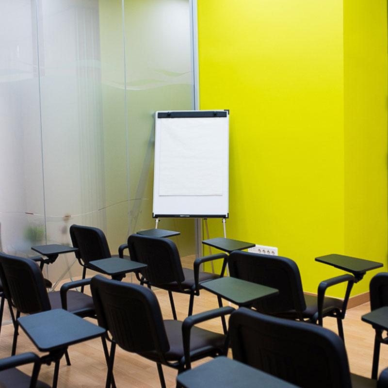 Alquiler de salas de formación para empresas y particulares en madrid norte