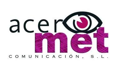 Logo acermet comunicación